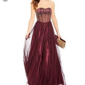 Floor Length Corset Ball Gown